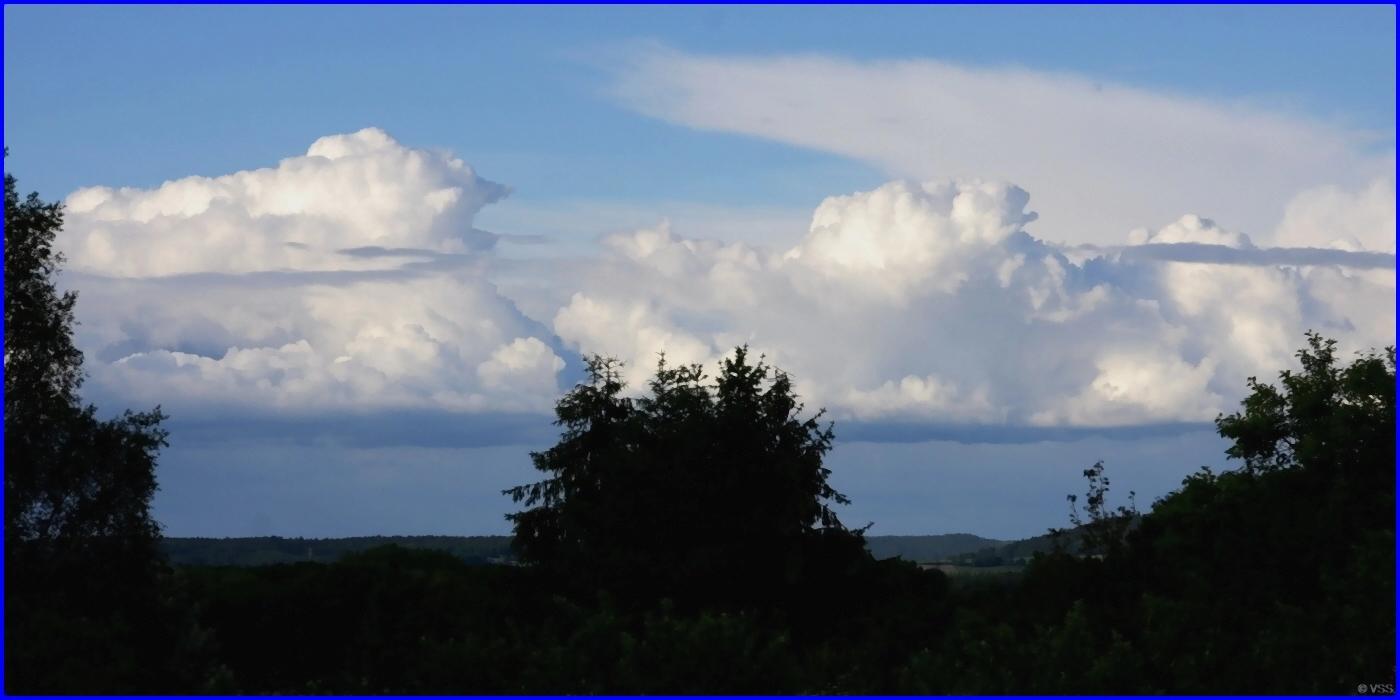 Gewitter-Wolke - Cumulonimbus